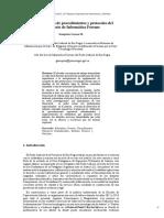 Estandarización de procedimientos y protocolos del laboratorio de Informática Forense