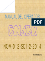 Manual Del Operador Nom 0121