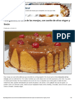 Torta de Aceite de Oliva