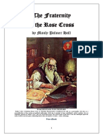 The Fraternity of the Rose Cross - M.P. Hall