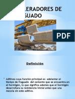 Aceleradores de Fraguado (1)