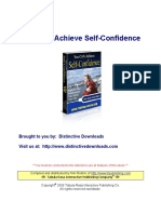 Achieve Self Confidence