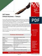 SGT Strain Gauge Torque Datasheet SGT 1115