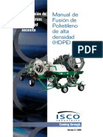 Manual de Termofusion Tuberia HDP