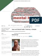 Islam and Mental Health_ Featuring —Hadiyah Muhammad _ Abdullah Ibn Yusuf _ LinkedIn