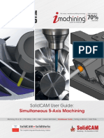 2015 SolidCAM Sim. 5-Axis-Milling User Guide