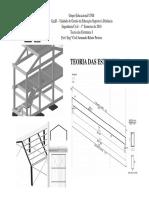 Teoria das Estruturas I Aula 09 -Vigas Isostáticas - Parte v - Vigas Inclinadas.