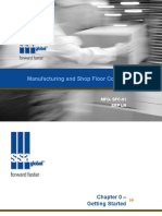 Manufacturing and Shop Floor Control in Infor LN