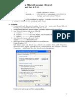 Menghubungkan Mikrotik Dan Client Di Virtualbox 4-2-10