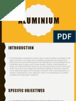 Aluminium Presentation