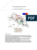 Proyecto de desarrollo integral Interfluvio Teuco Bermejito