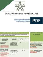 Técnicas e Instrumentos de Evaluación Sena