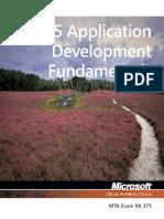 HTML5 Applications Development Fundamentals 98-375