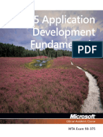 HTML5 Applications Development Fundamentals 98-375