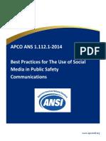 APCO Guideline for Social Media