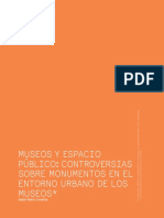 """""""Museos y espacio público"""