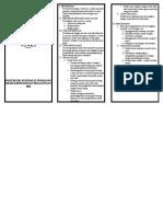 Leaflet Filariasis (Kaki Gajah)