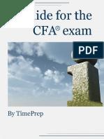 TimePrep Guide for the CFA Exam