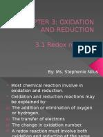 3.1 Redox Reaction