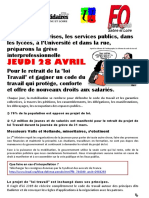 Tract Unitaire 28 Avril Saône_et_Loire