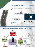 Proyecto Boleto Electrónico CETRAPAM - PRONET