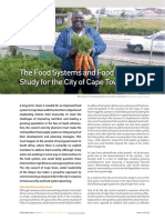 The Food Systems and Food Security Study for the City of Cape Town