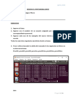 Fontaneria Linux Ejercicios