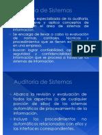 Auditoria de Sistemas Enfoque General