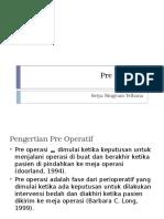 Pre Operatif