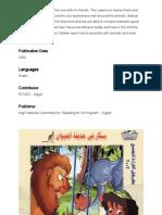 Kebun Binatang - Belajar Bahasa Arab