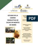 Estudio de La Cadena Productiva de Cacao en Los Montes de Maria Bolivar y Sucre (1)