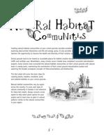 Natural Habitat Communities ~ Natural Features - Design Ideas for the Outdoor Classroom