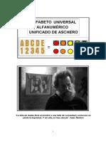 Cromosemiótica _Alfabeto Universal Alfanumérico Unificado de Aschero