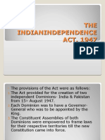 The Independence Act