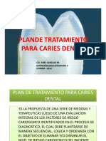 Plan de Tratamiento Para Caries Dental