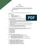 GMS 200 Midterm Practice Questions