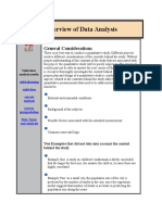 SPSS Overview