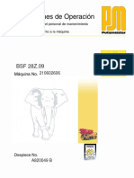 Manual Operating Instructions-BSF 28Z.09