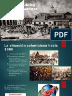 """república conservadora """"colombia"""""""