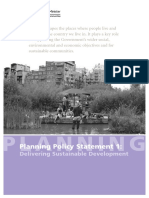 Planning Policy Statement
