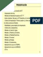 Interpretacion Ley Tributaria Argentina