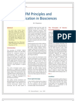AFM Principles and Application in BioSciences