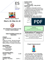 9-Lines Newsletter -- May 6 to 13, 2010