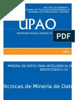 Tecnicas de mineria de datos