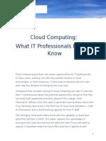 Microsoft Cloud Whitepaper