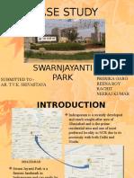 Case Study on swarnjayanti park