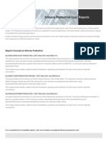 Techno-Economic Assessment about Silicone