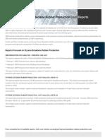 Techno-Economic Assessment about Styrene Butadiene Rubber