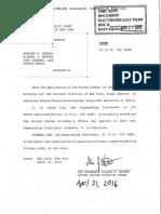 Michael Murgio Indictment