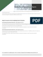 Techno-Economic Assessment about Urea Formaldehyde Resins